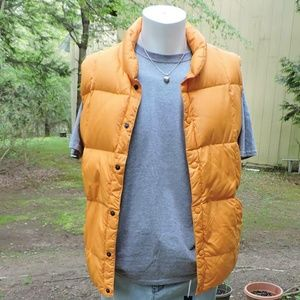 Yellow Puffer Vest